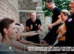 Bootcamp club en TIM Fysiotherapie