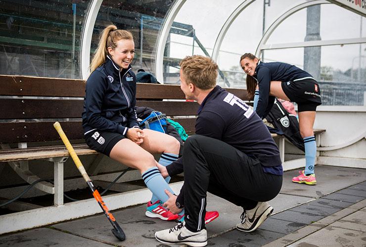 Samen staan we sterker fysiotherapie hockey