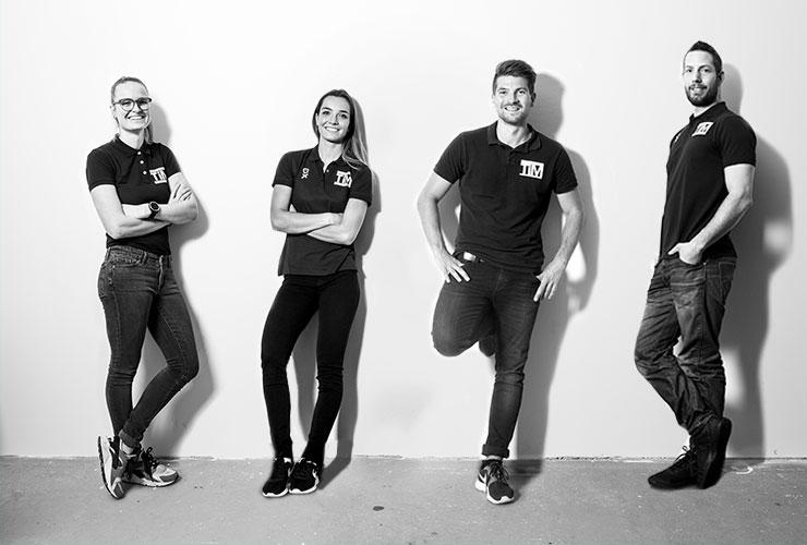 TiM Fysiotherapie team Zoetermeer